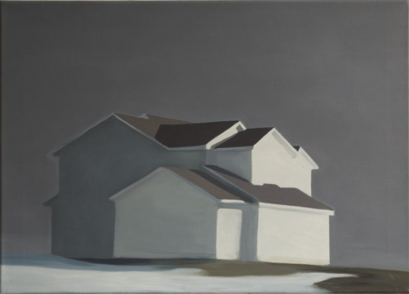 Benjamin Rubloff, Exemplar #5 (This Must be The Place), 2012, oil on canvas, 50x70cm